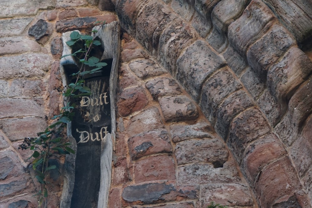Chester's eerie medieval oak coffin
