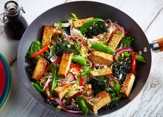 Sweet Ginger Tofu Stir Fry Recipes Cauldron Foods