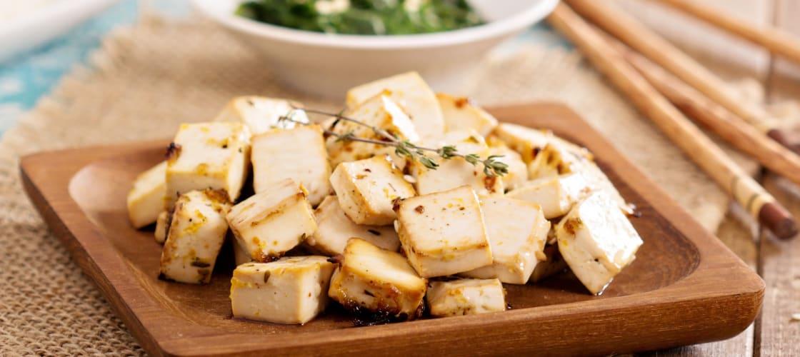 Cauldron Foods Organic Tofu Pieces