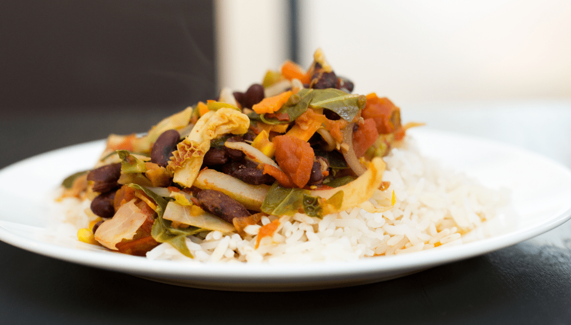 Vegetable chilli by MasterChef's Chris Hale
