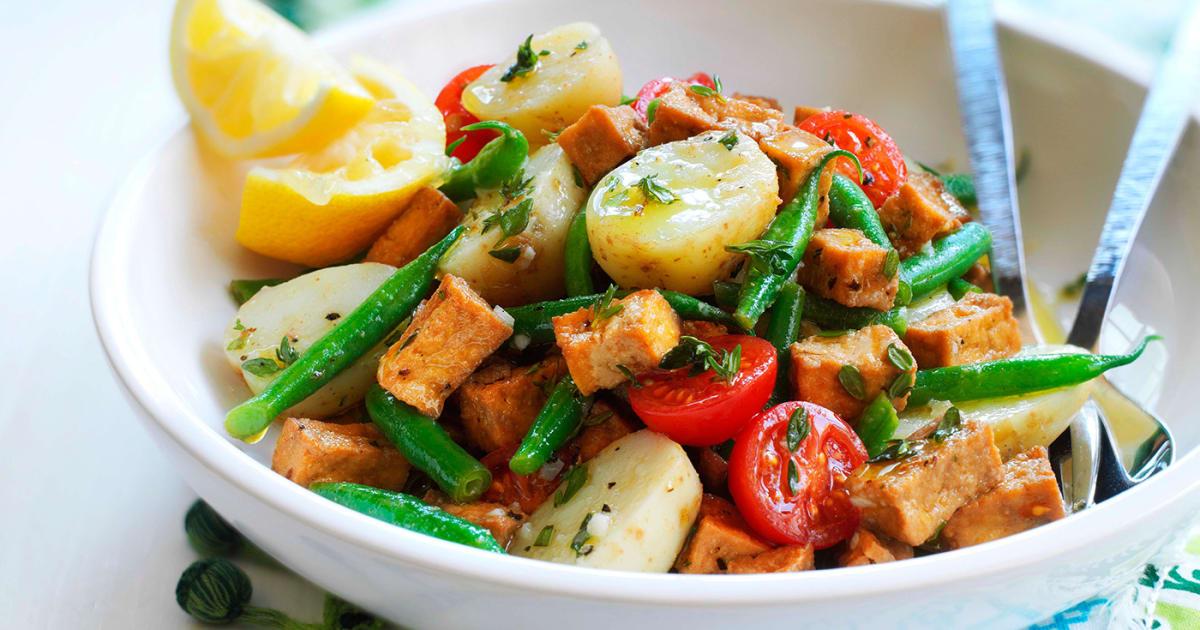 Italian Potato Tomato Salad Recipe