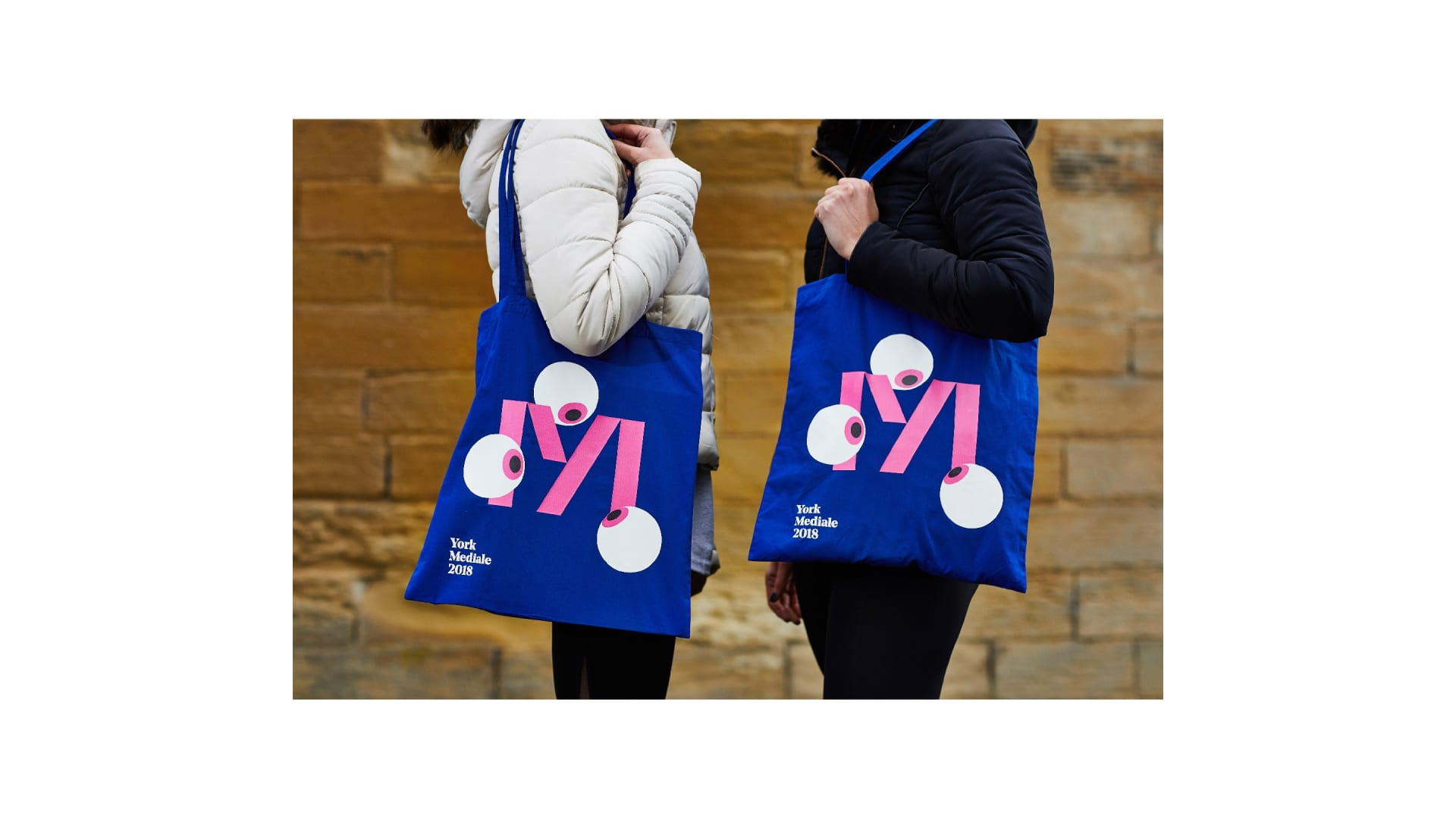 York Mediale festival tote bags
