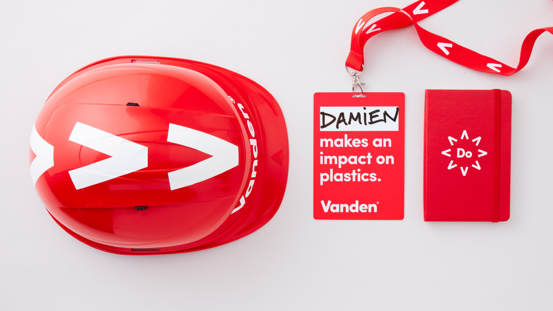 Vanden recycling identity application