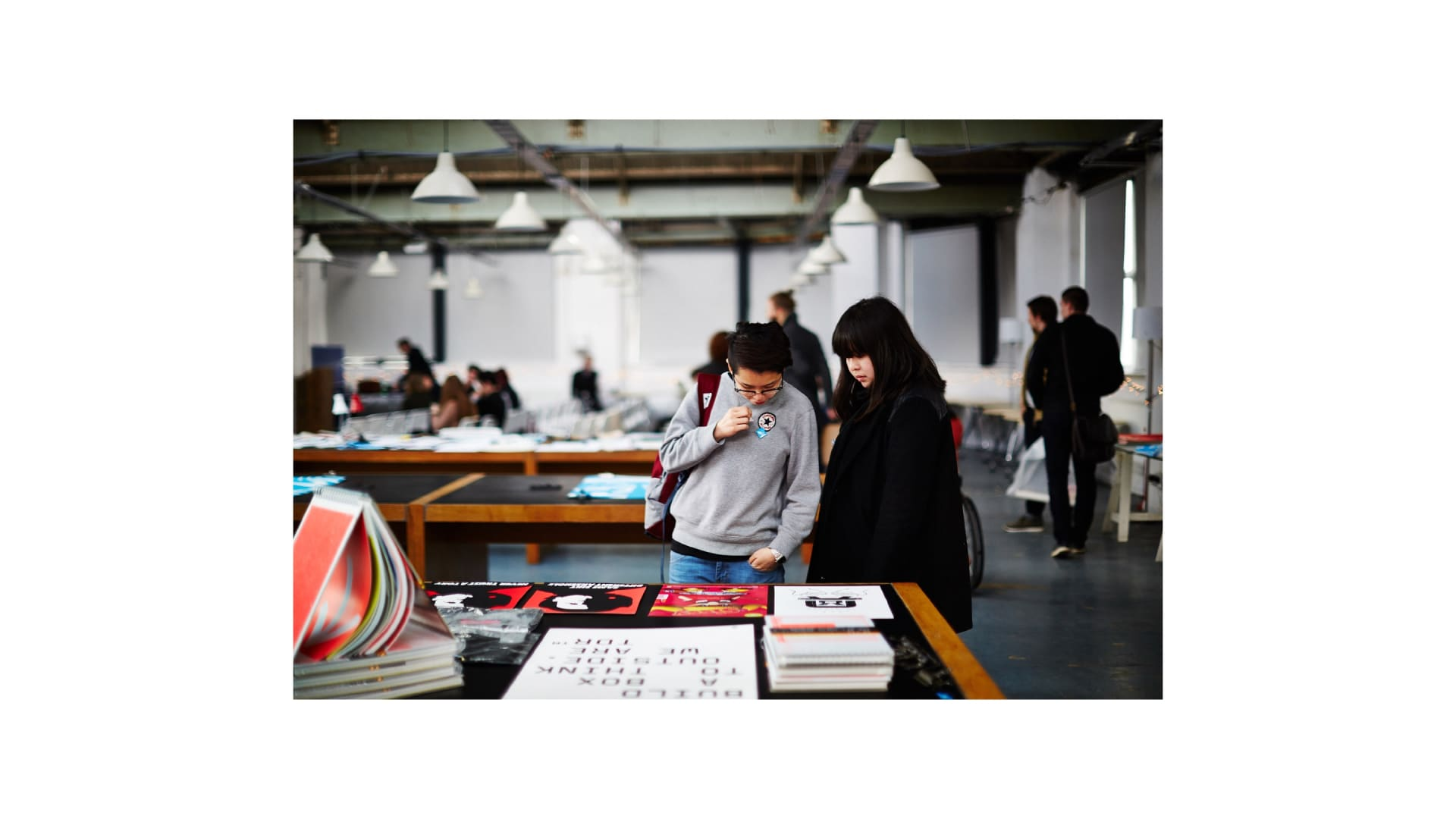 Leeds Print Festival print fair