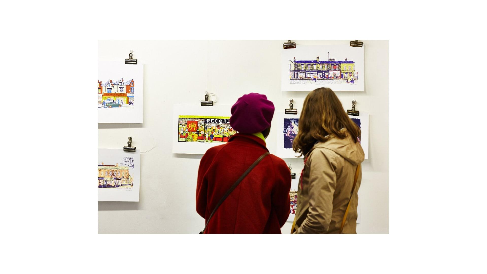 Leeds Print Festival exhibition