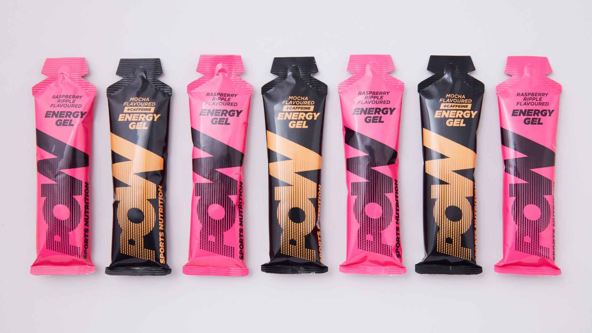Pow sports nutrition energy gels