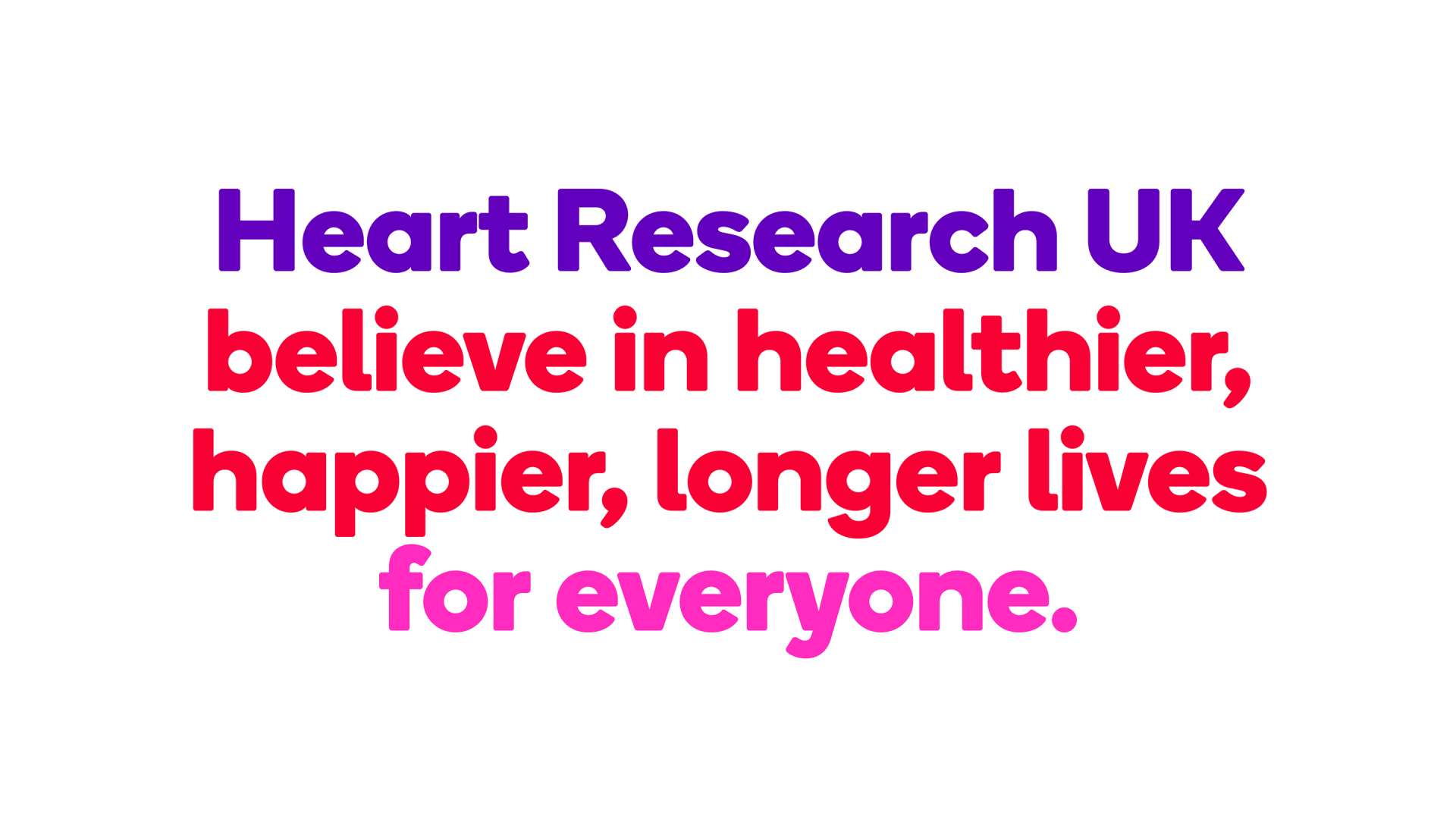 Heart Research UK purpose