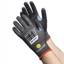 55-5123 cut resistant level E fully coated gloves pair