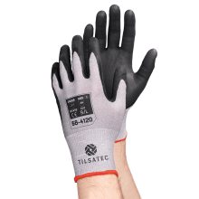 58-4120 cut resistant level D foam flex nitrile glove pair