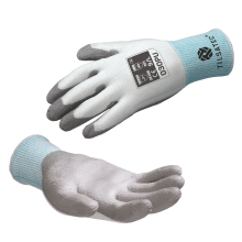 030pu cut resistant level D pu palm coated glove