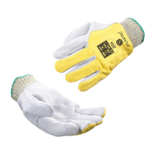 204 cut resistant level F heat protection leather glove