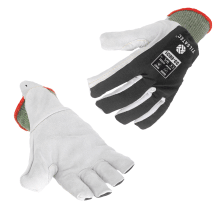 33-6631 cut resistant level F leather palm glove