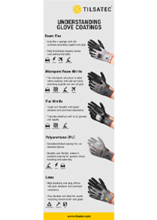 understanding glove coatings infographic