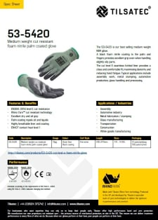 53-5420 specification sheet