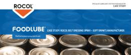ROCOL Belt Dressing Spray - Soft Drink's Manufacturer