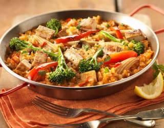 Vegan Smoked Tofu Paella
