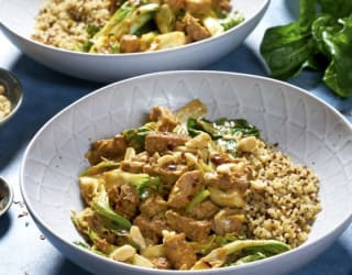 Vegan Satay Tofu Stir