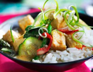 Tofu Thai Green Curry