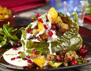 Vegan Mexican Celebration Peppers