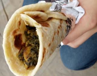 Nordic Street Food Chanterelle Wrap