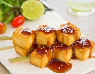 Japanese teriyaki street food