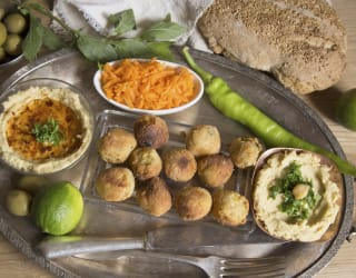 Falafel choices for Ramadan