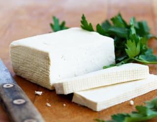 prepping tofu