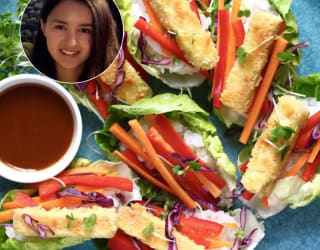 Rhian's tofu drew attention