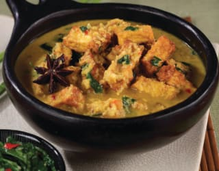 Rendang Malaysian Tofu and Coconut Curry
