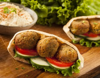 Versatile falafel