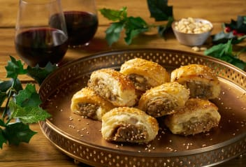 Sausage Rolls with Pine Nut & Sage
