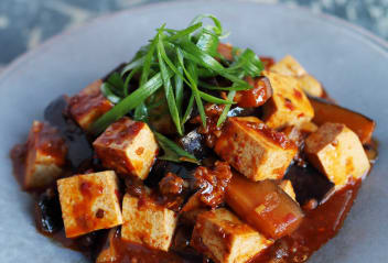 Aubergine Tofu