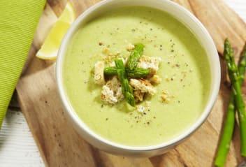Tofu Asparagus Soup