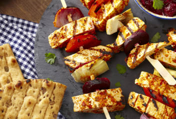 Brazilian Peri Peri Skewers with Cranberry Salsa