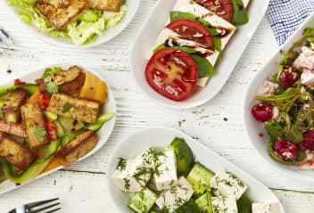 Tofu Summer Salads