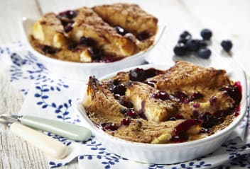 Tofu Bread & Butter Pudding