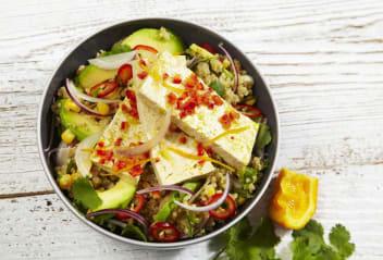 Peruvian Ceviche Salad with refreshing Citrus Marinated Tofu