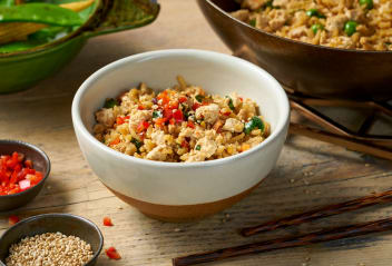 Scrambled Tofu Fried Rice