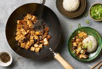 Shiitake Mapo Tofu
