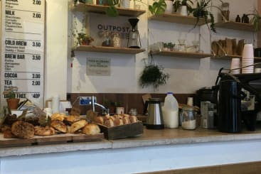 Outpost Coffee in Nottingham