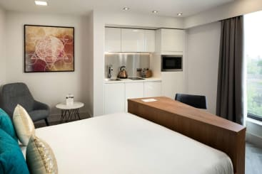 A Smart Studio at Roomzzz London Stratford