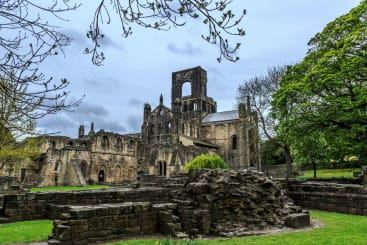 Kirkstall Abbey In Leeds