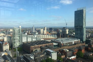 The view of Manchester from 20 Stories