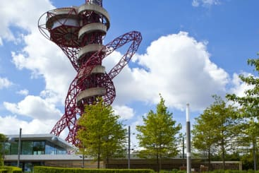 The ArcelorMittal Orbit in London Stratford