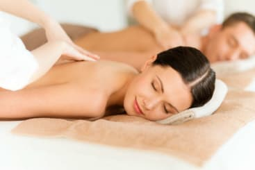 couples spa massage