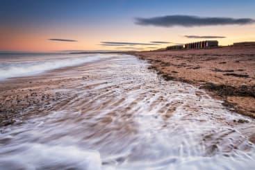 Blyth Beach in Newcastle
