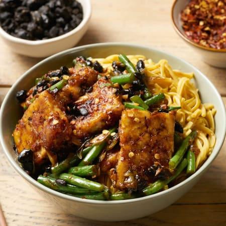 Tofu & Black Bean Stir Fry