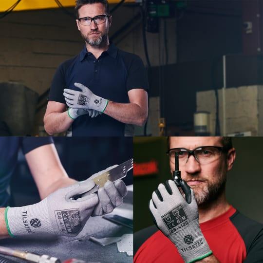 Tilsatec launch cut level D glove range blog thumbnail