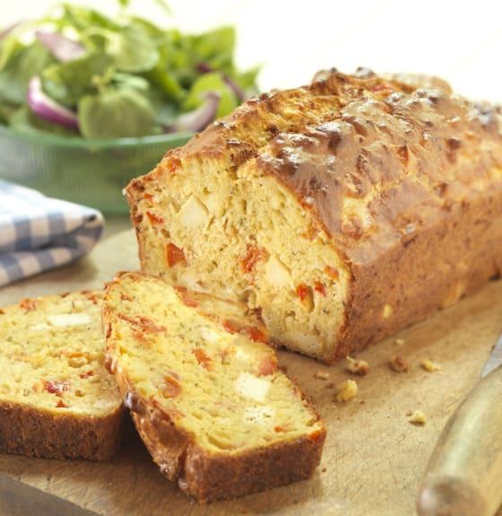 Savoury Tofu Sun Blushed Tomato Loaf