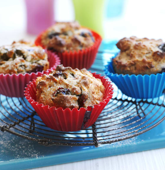 Feel Good Apricot and Oatmeal Muffins